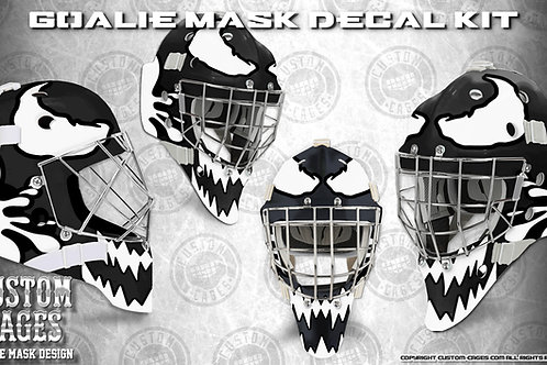 SPIDEY #2 -Goalie Mask Vinyl Decal Set