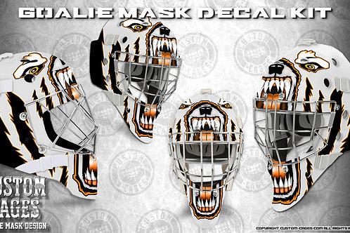 MAD DAWG -Goalie Mask Vinyl Decal Set