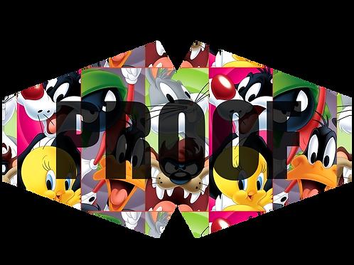 Looney Tunes Facemask Design