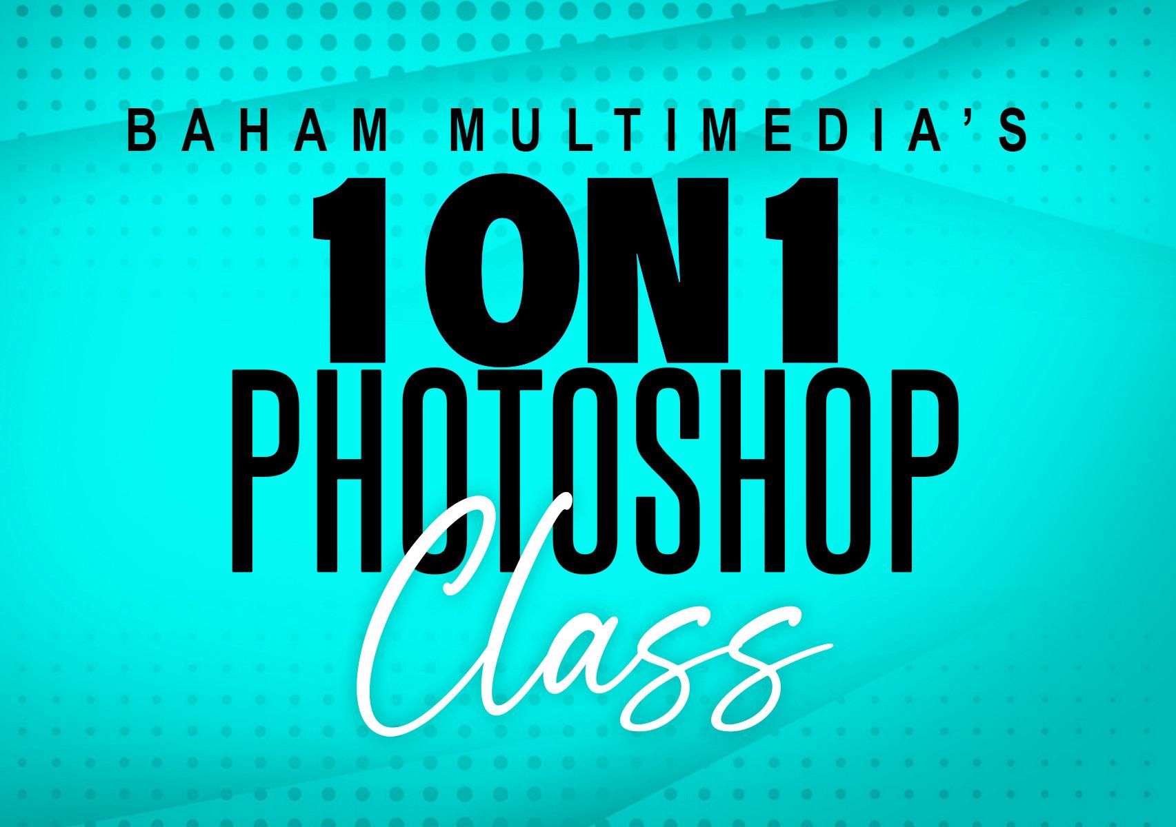 1 on 1 Photoshop Class (60 MINS)