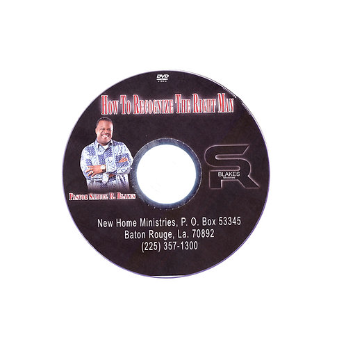 How to Know the Right Man CD