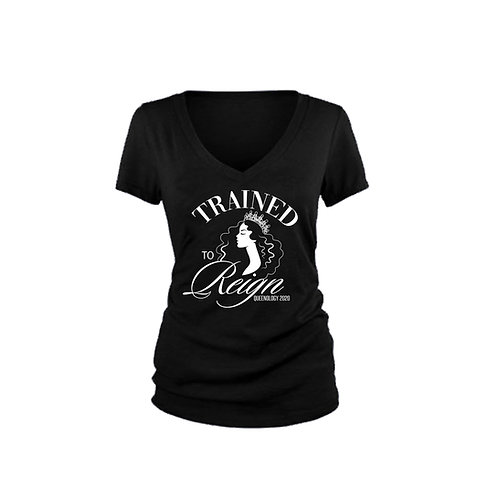 Trained to Reign V-Neck T-shirt