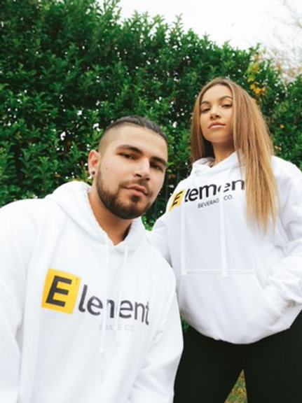Original White Element Hoodie
