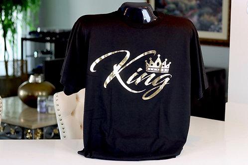 "Kingology ""KING"" Gold Foil T-shirt"