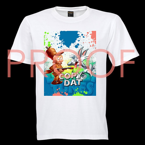 """COPY DAT"" CROPPED T-SHIRT DESIGN"
