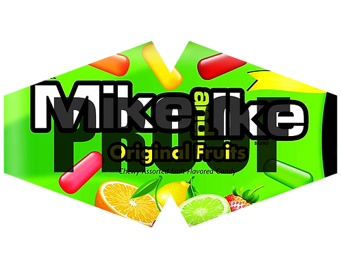 Mike & Ike Facemask Design
