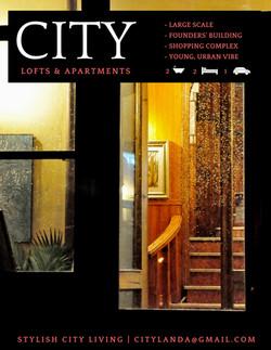 City Lofts + Apartments Flyer