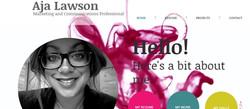 Aja Lawson Website