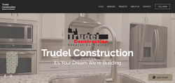 Trudel Construction Website