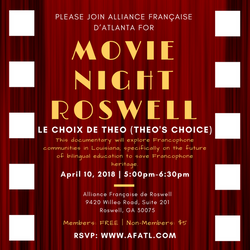 Roswell Movie Night Flyer_April 2018