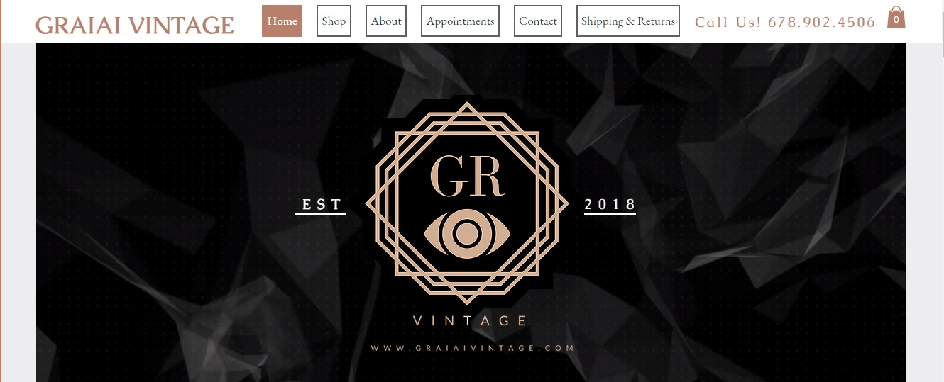 Graiai Vintage Website