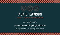 Motor City Digital Card (back)
