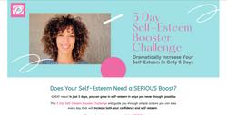 5-Day Self-Esteem Booster Challenge Website