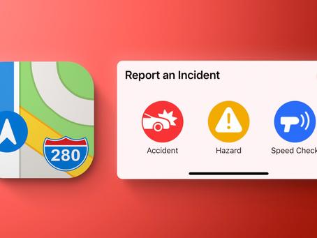 iOS 14.5 Has New Waze-like Feature in Apple 'Maps'