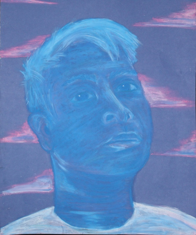 "Christian Banez- ""Blue Boy"""
