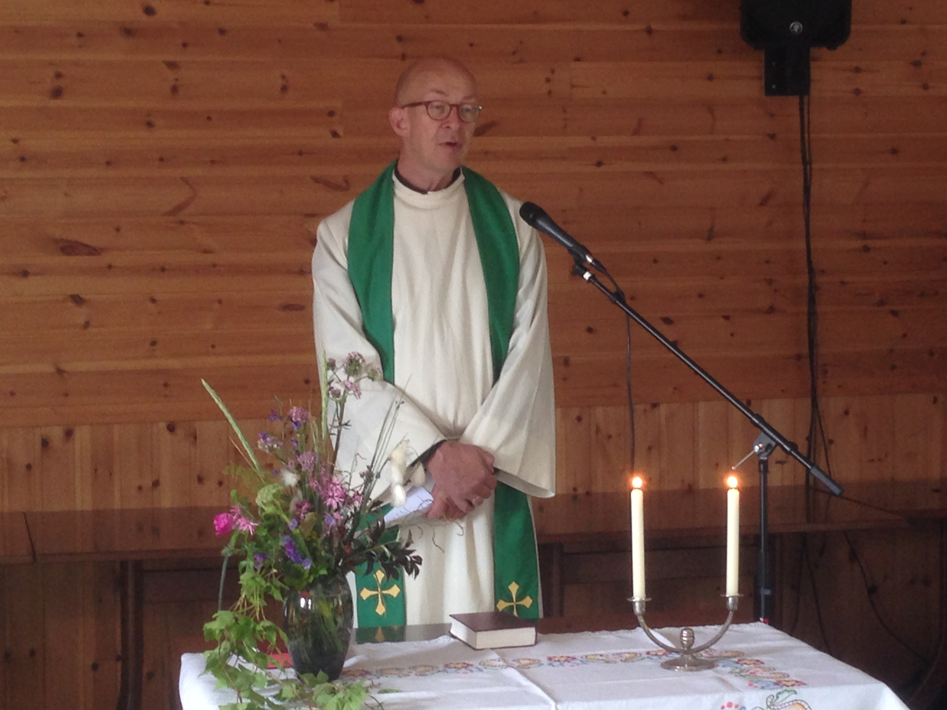 Gudstjeneste - Prest Jon Aalborg