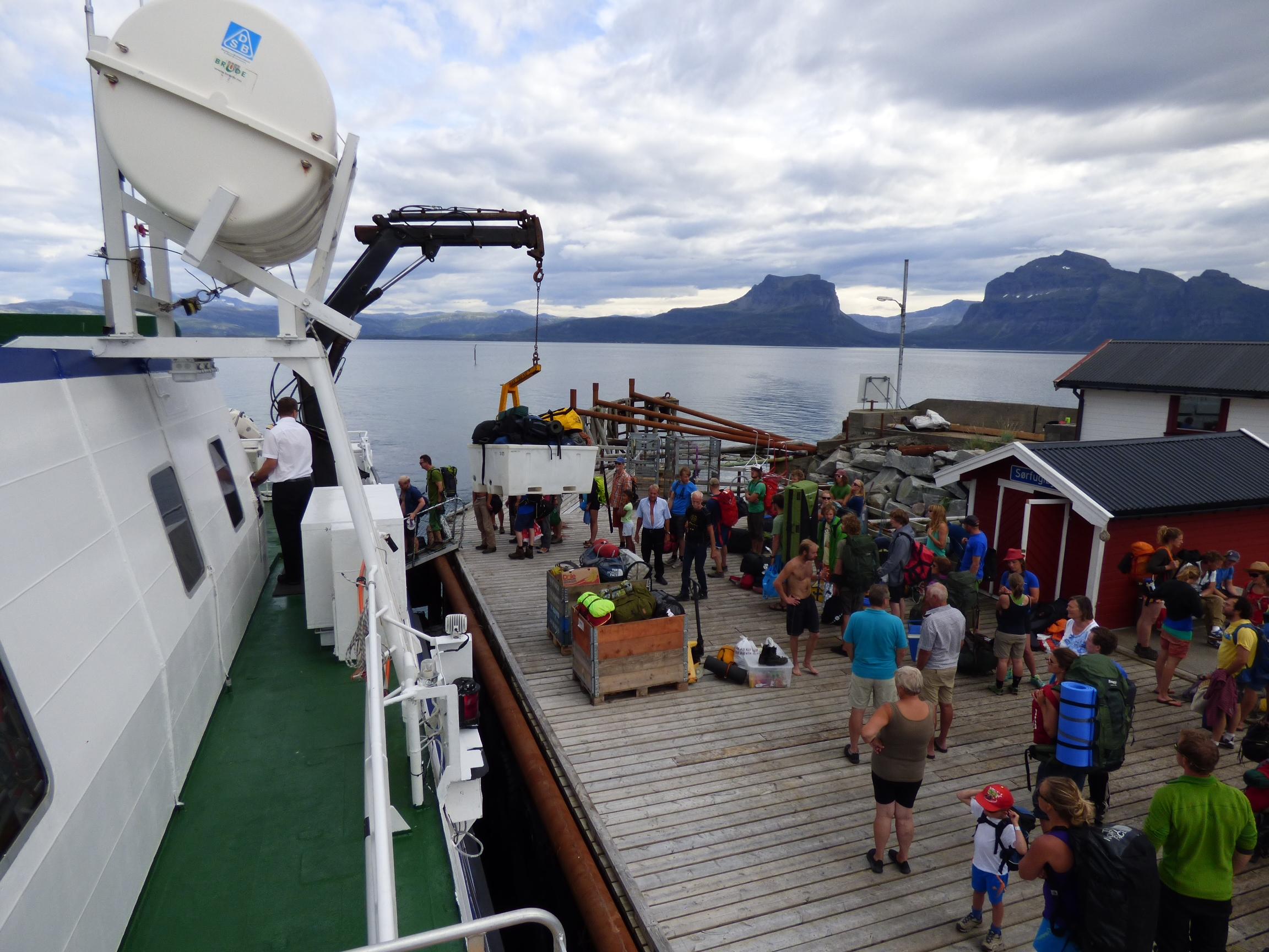 Båtanløp og usikkerhet