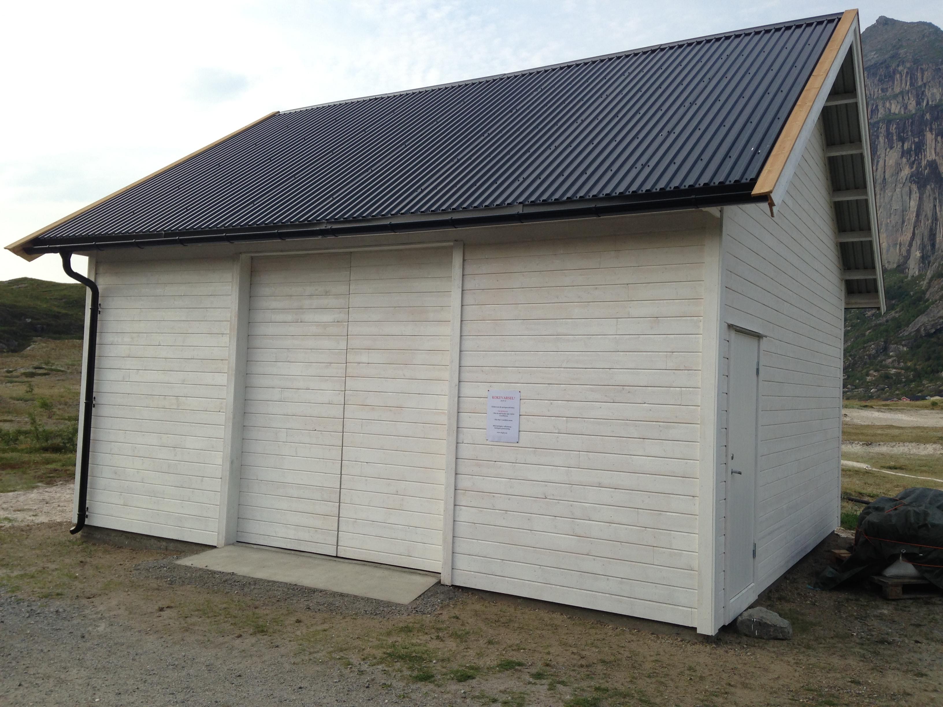 Garasjen er ferdig :-)