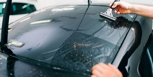 rear glass car window tinting in Bethesda Maryland