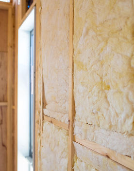 Home insulation contractor work of wall washington dc