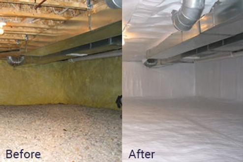 crawl space insulation service washington dc