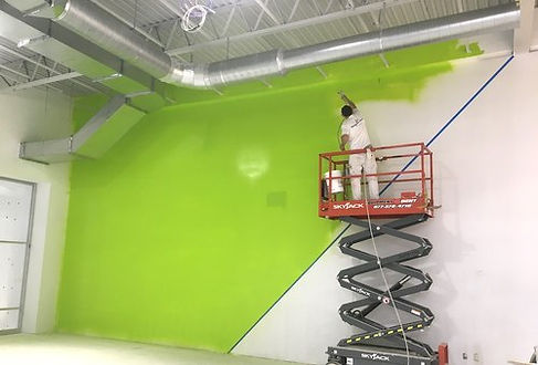 man doing commercial painting Germantown