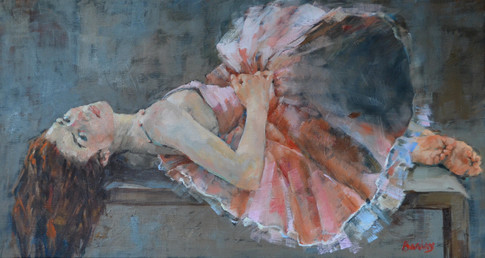 """At Rest 16"""" x 30"""""""