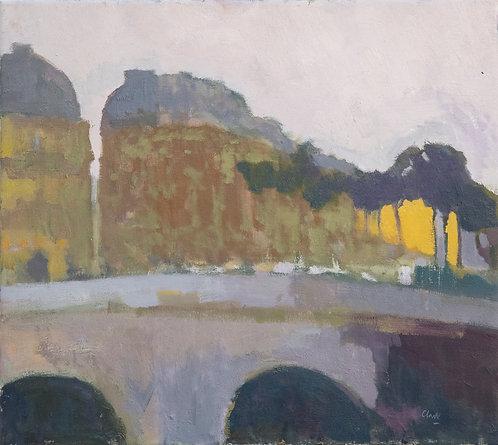 Towards St Germain by Michael Clark