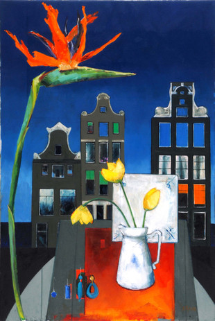 'Amsterdam_Accessories'_Oil_on_Canvas