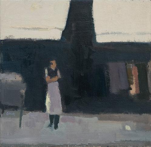 'Waiter, Paris' by Michael Clark