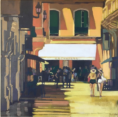 'Calle San Augustin, Malaga' by Tony Griffin