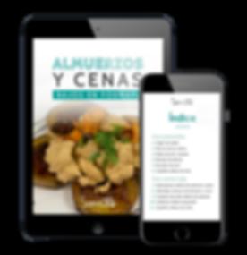 Ipad + celular - almuerzos y cenas bajos
