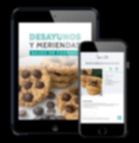 Ipad + celular - meriendas y desayunos b