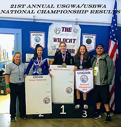 Congratulations To The AGA Wolpack of Reno, Nevada our 2018 High School Girls Champions