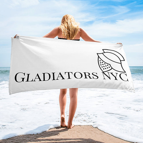 Gladiators NYC Beach towel