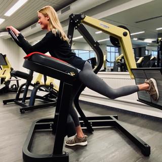 Beine-Po-Training