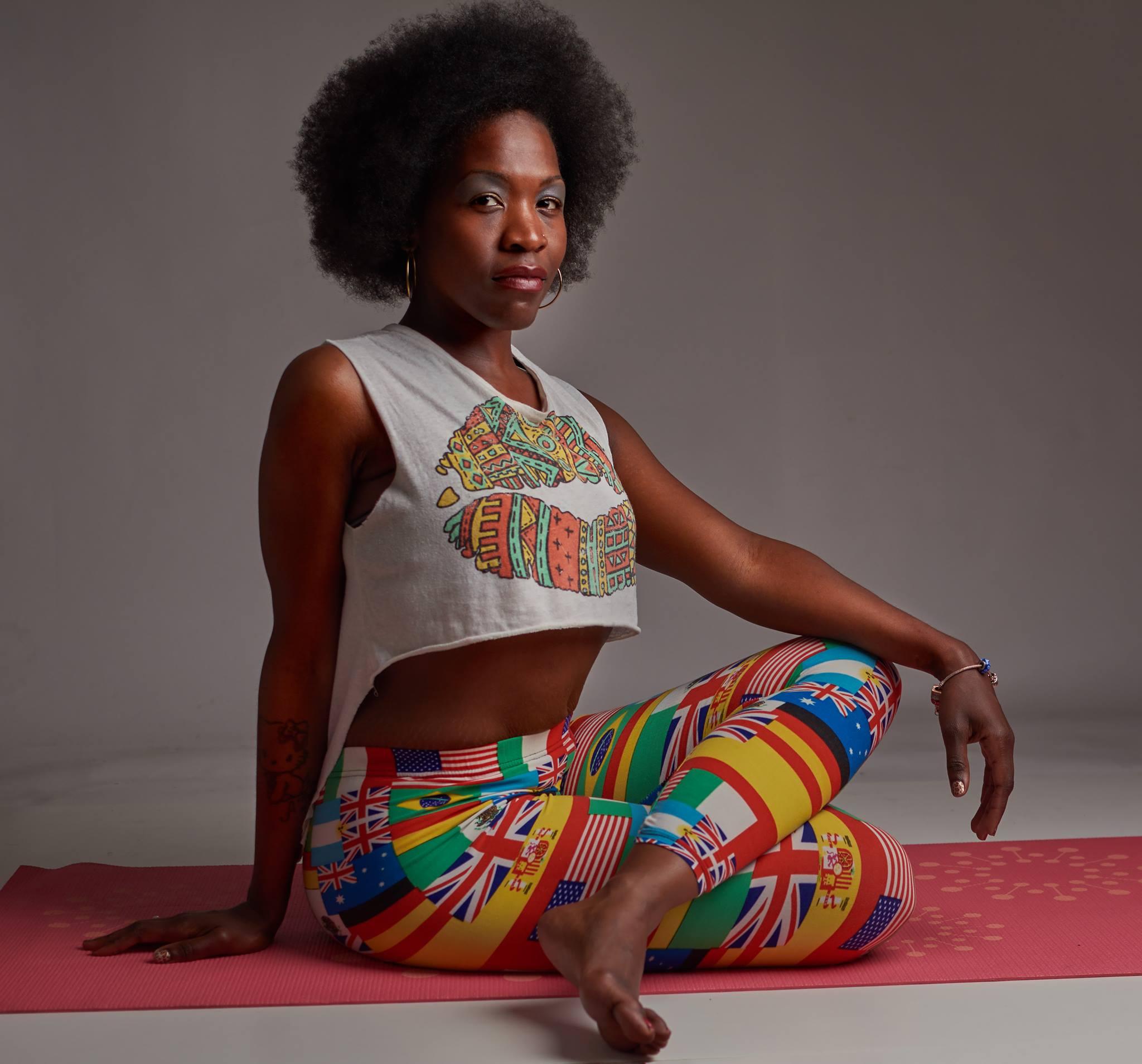 Afrochick Yogini