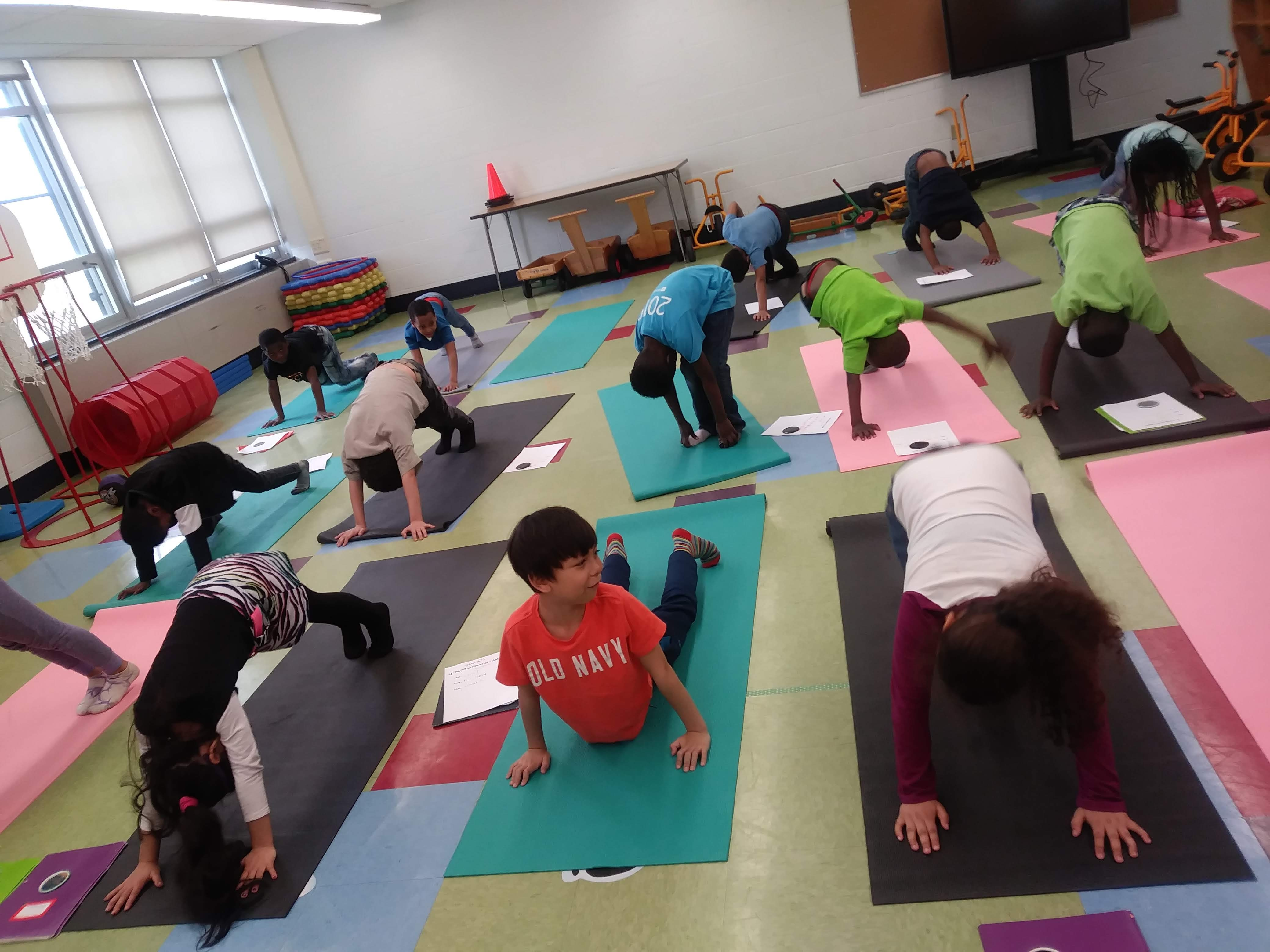 Kid Yogi Program at BPS #72