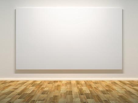 A new year, a deceptively blank canvas