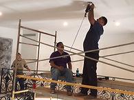 install new chandelier