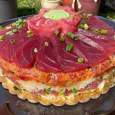Signature Poke Cake w/Sashimi Frosting