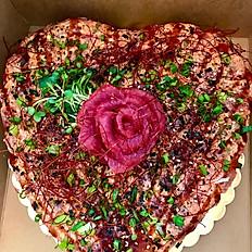 Heart Poke Cake