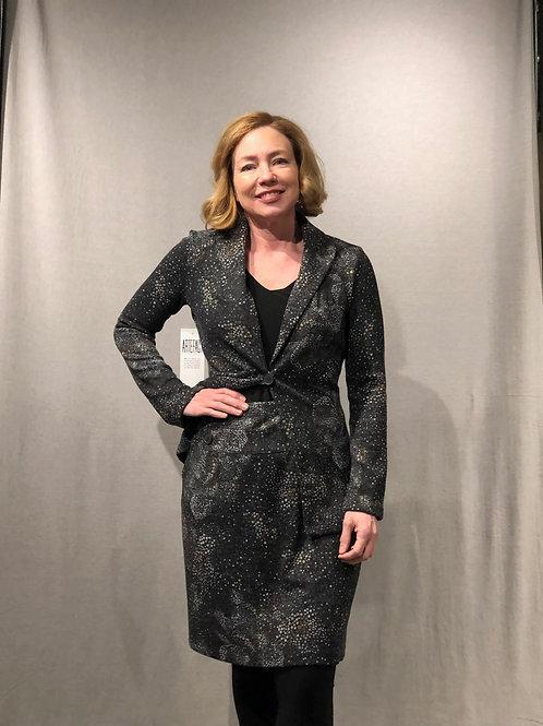 R403 jupe droite enfilable charbon-ocre-gris