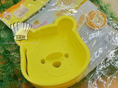 พิมพ์กดขนมปัง/คุกกี้/ฟองดอง ลายหมีพูห์