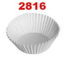 กระทงจีบกระดาษสีขาว 2816