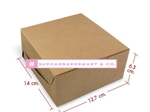กล่อง Snack-กล่องใส่อาหารว่างคราฟท์