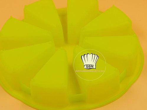 พิมพ์ซิลิโคนทรงเค้กสามเหลี่ยม 8 ช่อง