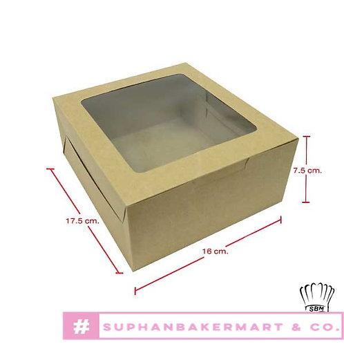กล่องเค้กครึ่งปอนด์-กล่องชิฟฟ่อนคราฟท์