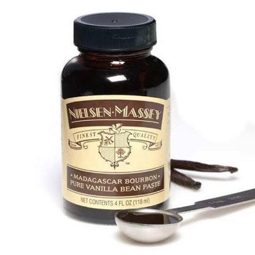 Nielsen Massey Madagascar Pure Vanilla Bean Paste 4 oz (118ml)