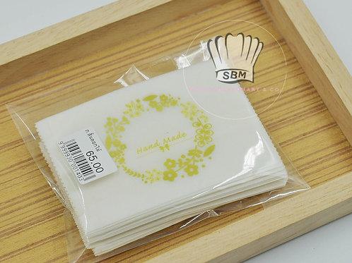 ถุงกระดาษลายดอกไม้ 7 cm